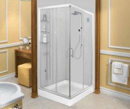 Mẫu vách kính phòng tắm đứng