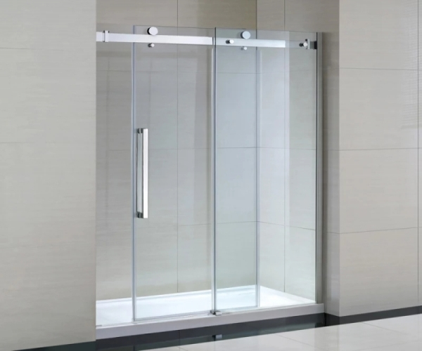Mẫu vách kính tắm cửa lùa/cửa trượt